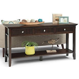 Simpli Home Console Sofa Table, , rollover