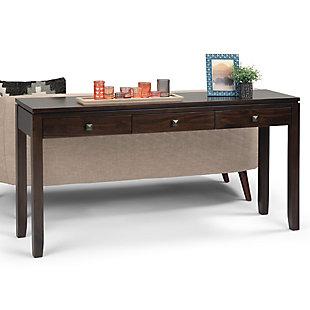 Simpli Home Contemporary Console Sofa Table, , rollover