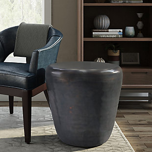 Garvy Metal Accent Side Table, , rollover