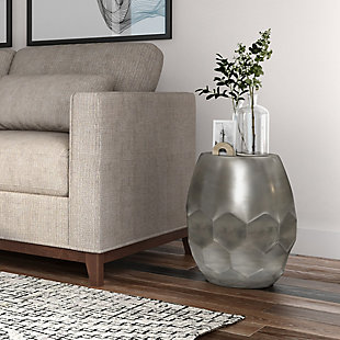Flanigan Metal Accent Table, , rollover