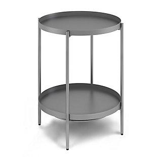 "Monet Modern  17"" Metal End Table, , large"