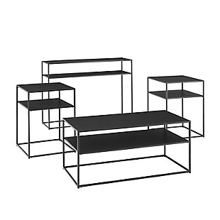 Braxton Coffee Table Set (Set of 4), , large