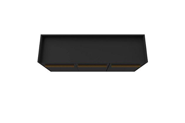 Manhattan Comfort Bradley Buffet Stand Black, Black, large