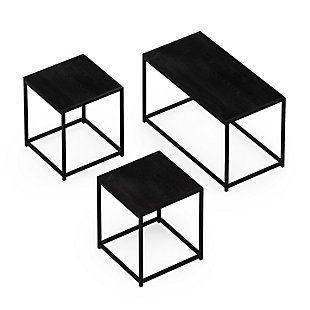 Camnus Modern  Living Room Table Set with One Coffee Table and Two End Tables, , large