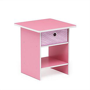 Dario  End Tablewith  Storage Shelf & Bin Drawer, , large