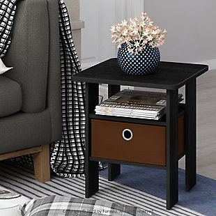 Andrey  End Table  with Bin Drawer, , rollover
