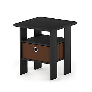 Andrey  End Table  with Bin Drawer, , large