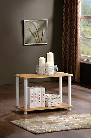 Turn-N-Tube 2-Tier End Table, , rollover