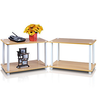 Turn-N-Tube 2-Tier  End Tables Set, 2 Pcs, , rollover