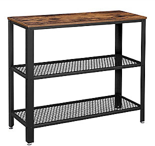 Vasagle Rustic Console Table, , large