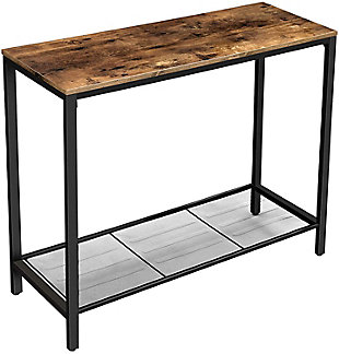 Vasagle Industrial Console Table, , large