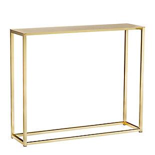 "Montclair   36"" Console Table, Gold, large"