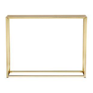 "Montclair  48"" Console Table, Gold, large"