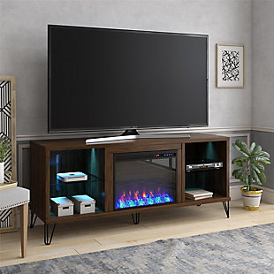 Novogratz Concord Fireplace TV Stand, , rollover