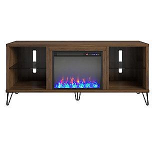 Novogratz Concord Fireplace TV Stand, , large