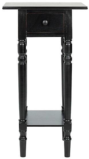 Safavieh Sabrina End Table, Black, large