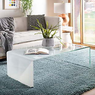Safavieh Crysta Ombre Glass Coffee Table, , rollover