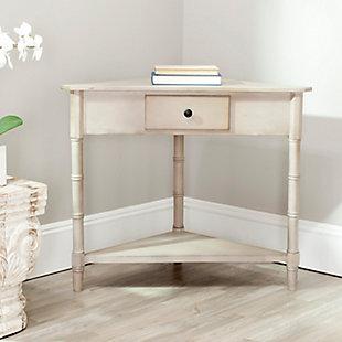 Safavieh Gomez Corner Table, Gray, rollover