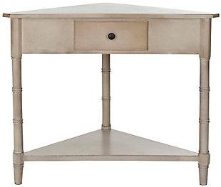 Safavieh Gomez Corner Table, Gray, large
