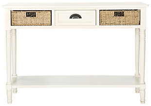 Safavieh Winifred Console, White, large