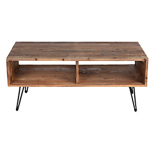 Turner Hairpin Leg Coffee Table, , large