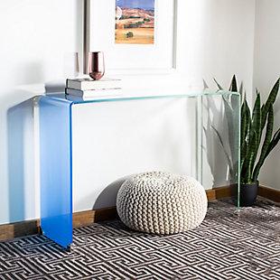 Safavieh Crysta Ombre Glass Console Table, , rollover