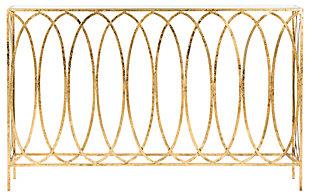Safavieh Carina Oval Ringed Console Tab, , large