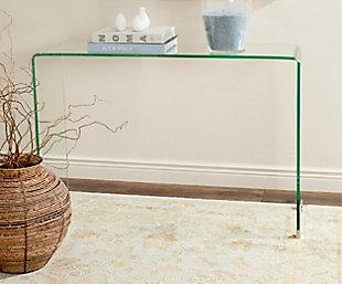 Safavieh Ambler Glass Console Table, , rollover
