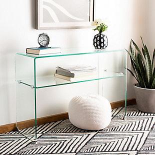 Safavieh Hollis Glass Console Table, , rollover