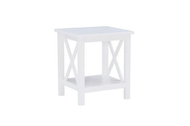 Linon Blaine End Table, , large