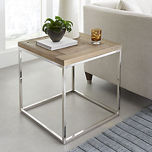Modus Furniture International Ace Reclaimed Wood End Table, , rollover
