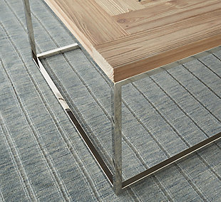 Modus Furniture International Ace Reclaimed Wood End Table, , large
