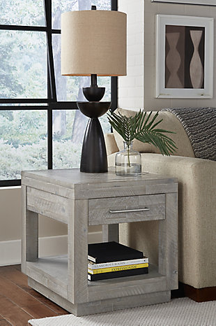 Modus Furniture International Alexandra Solid Wood End Table, , rollover