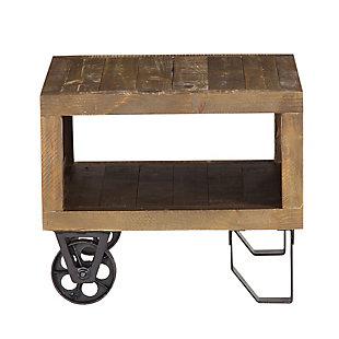 Modus Furniture International Coalburn Reclaimed Wood  Side Table, , large