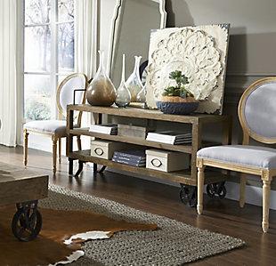 Modus Furniture International Coalburn Reclaimed Wood Media Console, , rollover
