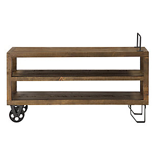 Modus Furniture International Coalburn Reclaimed Wood Media Console, , large