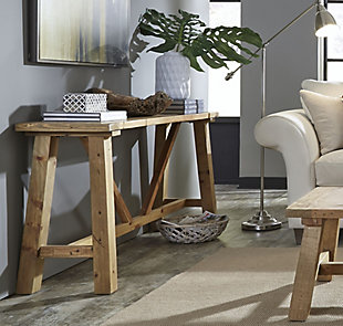 Modus Furniture International Harby Reclaimed Wood Console Table, , rollover