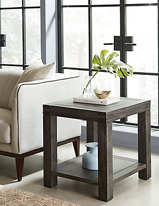 Modus Furniture International Meadow Solid Wood End Table, , rollover
