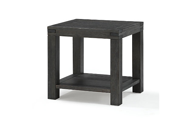 Modus Furniture International Meadow Solid Wood End Table, , large