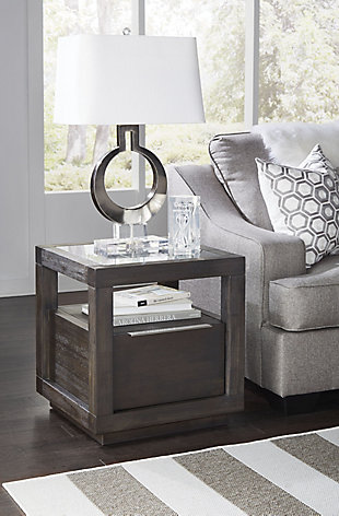 Modus Furniture International Oxford End Table, , rollover
