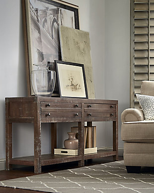 Modus Furniture International Townsend Solid Wood Console Table, , rollover