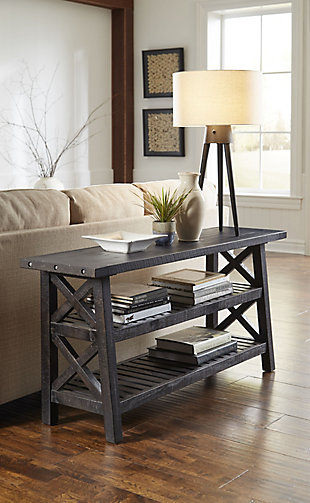 Modus Furniture International Yosemite Solid Wood Console Table, , rollover