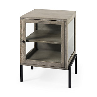 Mercana Arelius Metal Frame End Table, , large