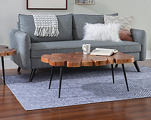 Powel Griffin Live Edge Coffee Table, , rollover