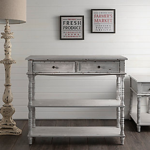 Crestview Collection Weston 2 Drawer Console Table, , rollover