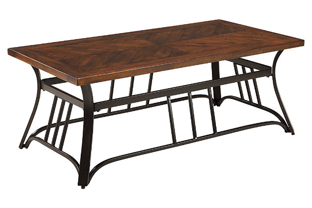 Zanilly Coffee Table by Ashley HomeStore, Two-tone