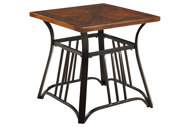 Zanilly End Table by Ashley HomeStore, Two-tone