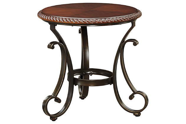 Gambrey End Table by Ashley HomeStore, Brown