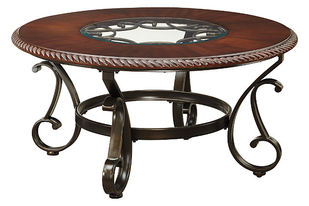 Gambrey Coffee Table by Ashley HomeStore, Brown