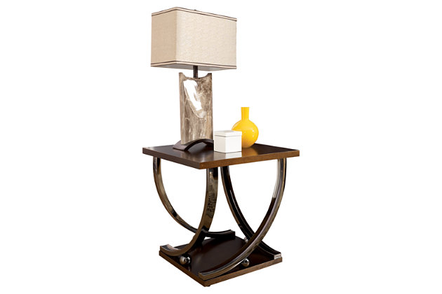 Rollins End Table by Ashley HomeStore, Brown